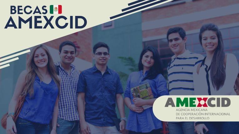 Cuáles son las becas que ofrece AMEXCID en México